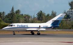 N192R Dassault DA-20D Falcon Reliant Airlines (Keith B Pics) Tags: n192r n4382f n920l n57jf n910w n192ck keithbpics sju cargo reliantairlines sanjuan falcon da20 dassault