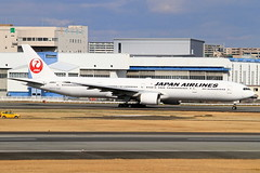 JA8944 Japan Airlines - JAL Boeing 777-346 (阿樺樺) Tags: ja8944 japanairlines jal boeing 777346