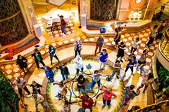 Exercise Dance (k4eyv) Tags: exercise rubyprincess alaska summerinalaska cruiseship fujixe1