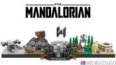 "Lego Star Wars - ""The Mandalorian"" Skyline MOC"
