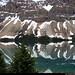 20180615_02 Shiny lake (Bow Lake?) & snowy mountains, Banff National Park, Alberta, Canada