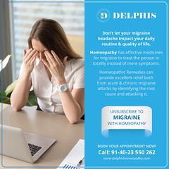 Homeopathy Treatment for Migraine (delphishomeopathy) Tags: best homeopathy clinic hyderabad besthomeopathyclinicinhyderabad homeopathyclinics clinics homeoclinics tophomeopathyclinic besthomeoclinicsinhyderabad