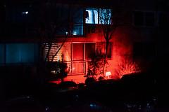 2348/1738 (june1777) Tags: snap street alley seoul night light bokeh sony a7ii industar 502 50mm f35 russian m42 12800 clear art4