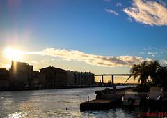 canal_martigues-1 (degun67) Tags: martigues bouches rhone provence ruelle sud canal eau eglise pont bateau ciel bleu nuage