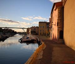 martigues-2 (degun67) Tags: martigues bouches rhone provence ruelle sud canal eau eglise pont bateau ciel bleu nuage