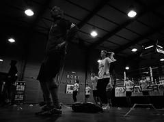 7888 - Warm up (Diego Rosato) Tags: warm up riscaldamento allenamento training boxer pugile boxe boxing pugilato boxelatina bianconero blackwhite fuji x30 rawtherapee