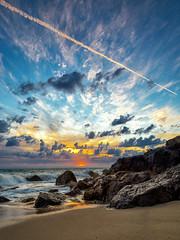Point Dume (Eric Zumstein) Tags: pointdume malibu seascape ocean sky sunset beach