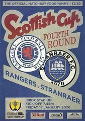 Rangers v Stranraer 20200117 (tcbuzz) Tags: rangers football club ibrox stadium glasgow scotland scottish cup programme