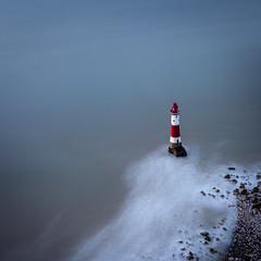 Eternal Dreams (Lloyd Austin) Tags: eastsussex england unitedkingdom beachyhead sunrise lighthouse landscape seascape longexposure cool nikon kase benro cablerelease ethereal eternal dreams