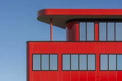 Red Office III (Jan van der Wolf) Tags: map20010v red office kantoor rood redrule architecture architectuur hoofddorp gevel gebouw facade