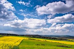 [ No Limits ] (FabMax · Photos of Germany) Tags: nature natur land landscape landschaft deu deutschland germany weimar thüringen tannroda ilmtal weite wide clouds wolken himmel sky blue white blai weis weiss ol olympus zu zuiko sommer summer