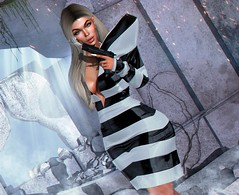 Stop callin, stop callin I don't wanna talk anymore (Bryan Trend) Tags: hache telephone dress maitreya only trend makeup eyeshadow lashes new releases