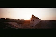 梧棲日落 (Long Tai) Tags: minolta ps panorama 24mm f45 kodak colorplus 200