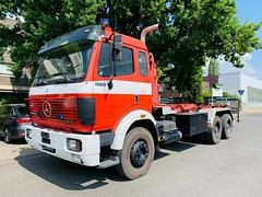 MB SK 2538 (Michaels Fahrzeugarchiv) Tags: mb mercedes einsatz blaulicht sk fahrzeug feuerwehr fire wechsellader wlf tipper lkw truck