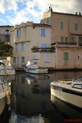 martigues-4 (degun67) Tags: martigues bouches rhone provence ruelle sud canal eau eglise pont bateau ciel bleu nuage