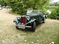 MG TD (michaelausdetmold) Tags: auto car fahrzeug oldtimer youngtimer mg td cabriolet