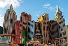 New York in Las Vegas (Karen_Chappell) Tags: newyork hotel lasvegas travel usa nevada city urban architecture buildings skyscraper canonef24105mmf4lisusm cityscape