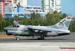 72-227 (20227) LTV A-7D Corsair 11 US Air Force (Keith B Pics) Tags: 20227 usaf72227 a7 ltv usairforce usaf keithbpics sanjuan puertorico sju