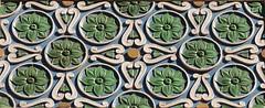 Orlando AT&T Building Detail (Jay Costello) Tags: orlando florida orlandoflorida architectural detail decoration green rosettes att