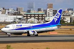 JA8504 All Nippon Airways - ANA Boeing 737-54K (阿樺樺) Tags: ja8504 allnipponairways ana boeing 73754k