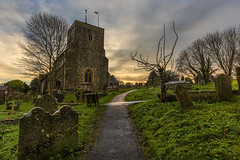 Holy path (Through Bri`s Lens) Tags: sussex steyning standrewschurch stgeorge church sacred cemmetary brianspicer canon5dmk3 canon1635f4