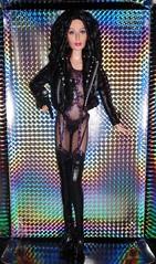 2007 Bob Mackie 80s Cher Barbie (2) (Paul BarbieTemptation) Tags: timeless treasures cher barbie doll black label 80s turn back time bill greening bob mackie designer celebrity