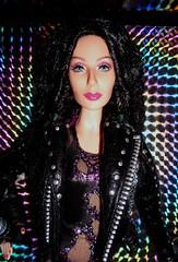 2007 Bob Mackie 80s Cher Barbie (6) (Paul BarbieTemptation) Tags: timeless treasures cher barbie doll black label 80s turn back time bill greening bob mackie designer celebrity