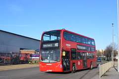 Two Months Left (BnT Photography) Tags: metroline enviro 400 te1739 sn09cfp 482 southall town hall heathrow terminal 5 hatton cross station