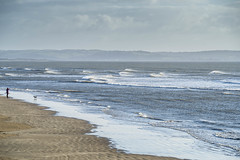 Photo of the beach at Burry Port