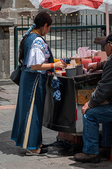 Bartering (blokfam9739) Tags: adult ecuador people peopleandculture quito southamerica streetphotography