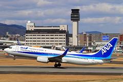 JA75AN All Nippon Airways - ANA Boeing 737-881 (阿樺樺) Tags: ja77an allnipponairways ana boeing 737881