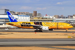 JA743A All Nippon Airways - ANA  Boeing 777-281/ER (阿樺樺) Tags: ja743a allnipponairways ana boeing 777281er
