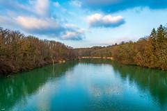 Le Rhône au Lignon (axel274) Tags: d7500 dimanche genève laplaine nikon verbois vernier