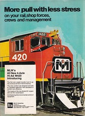 Trains Magazine (heytampa) Tags: trains trainsmagazine ad advertisement mlwindustries 1973
