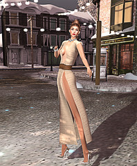 LuceMia - EVOLVE (2018 SAFAS AWARD WINNER - Favorite Blogger -) Tags: evolve champagne apparel runaway hair emotions hairpiecek event fiftyfivelinden treschic sl secondlife mesh fashion creations blog beauty hud colors models lucemia marketplace
