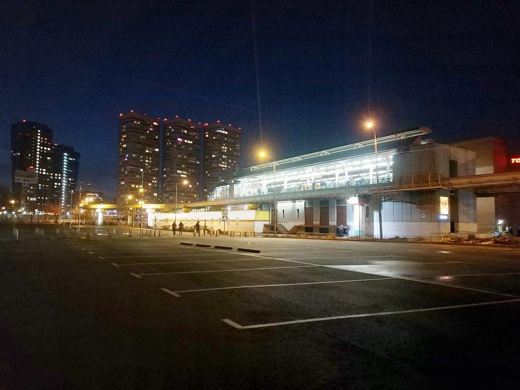 фото: Moscow monorail station Timityazevskaya 2020-01
