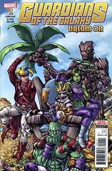 GOTG#1-DREAM ON-$6 (Hot Buys From Jojo) Tags: marvel comics guardiansofthegalaxy groot rocket quill drax gamora yondu starhawk martinex