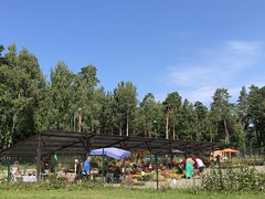 Saulkrasti (ilamya) Tags: latvia saulkrasti flower market