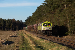 Harmelingen (Nils Wieske) Tags: niedersachsen ohe captrain baureihe 250 blue tiger güterzug bahn eisenbahn train railway railroad