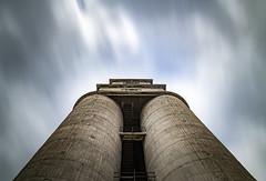 Sky Rush (panos_adgr) Tags: nikon d850 long exposure photography silo architectural abandoned keratsini drapetsona