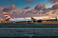 F-WZGP // G-XWBE BRITISH AIRWAYS AIRBUS A350-1041 msn 386 (Florent Péraudeau) Tags: fwzgp gxwbe british airways airbus a3501041 msn 386 skylum luminar 4 madewithluminar4 sigma60600sport sigma 60 600 sport canon1dmarkiv
