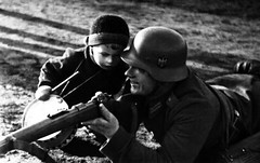 kkkkk (BlackWatch2000) Tags: ww2 war germans germany deuschland deutsch jugend kind boy children rifle mauser