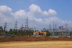 Kumbakonam to Chennai (vharishankar) Tags: countryside landscape lines power station pylons scenery south india powerstation southindia