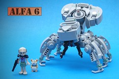 ALFA 6 (SweStar) Tags: ghost shell spider tank moc lego space jam swestar mecha alfa 6