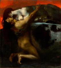 The Kiss of the Sphinx by FRANZ VON STUCK (lluisribesmateu1969) Tags: stuck museumoffinearts budapest 19thcentury mythology