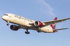 G-VOWS - LHR - (18-01-20) (Fred Ellis -) Tags: boeing 7879 vs virgin atlantic london heathrow myrtle avgeek landing