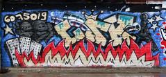 Graffiti in Amsterdam (wojofoto) Tags: amsterdam nederland netherland holland ndsm noord graffiti streetart wojofoto wolfgangjosten