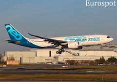 F-WTTO Airbus A330 Neo (@Eurospot) Tags: toulouse blagnac fwtto airbus a330 neo a330800 1888