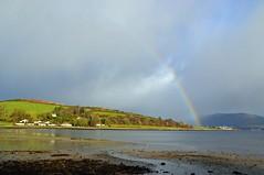 (Zak355) Tags: rothesay isleofbute bute scotland scottish rainbow weather portbannatyne