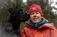 On tour in the forest (Sharkland) Tags: labrador black graso nikon d750 sweden forest skog portrait porträtt ahlenphotograpy uppland sverige ferry